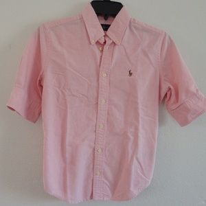 Ralph Lauren Button Down 3/4 sleeve